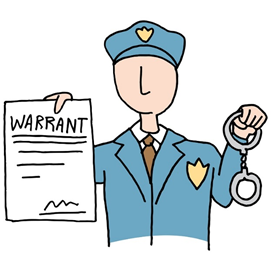 How To Handle An Outstanding Warrant For Your Arrest